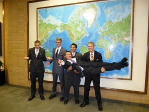 Austin and the Oregon MTC Elders.