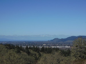 Eugene and Springfield from Mount Pisgah