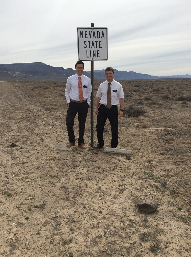 Elder Campbell and Elder Rushton