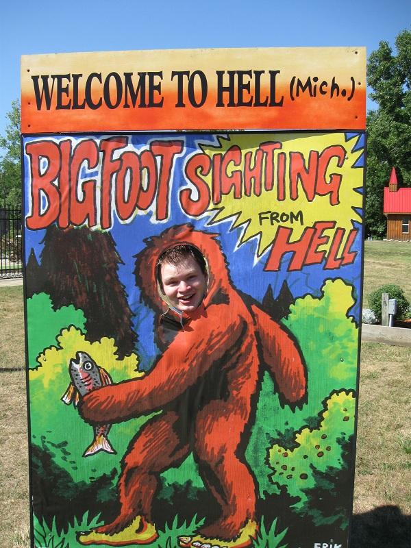 Erik Bigfoot Sighting in Hell
