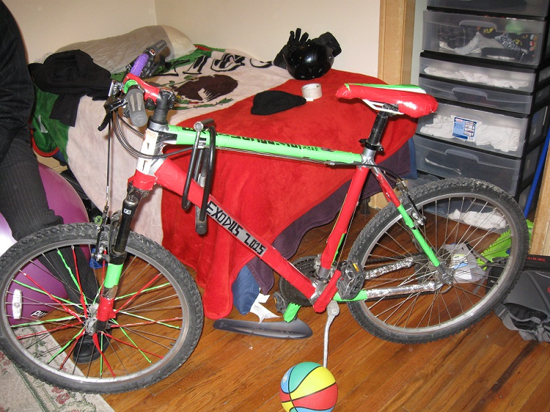 Erik Rushton's Missionary Bicycle