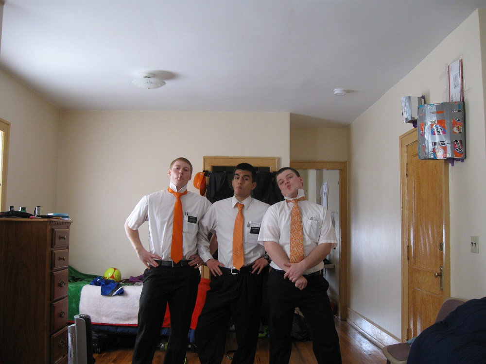 Elder Erik Rushton and his companions