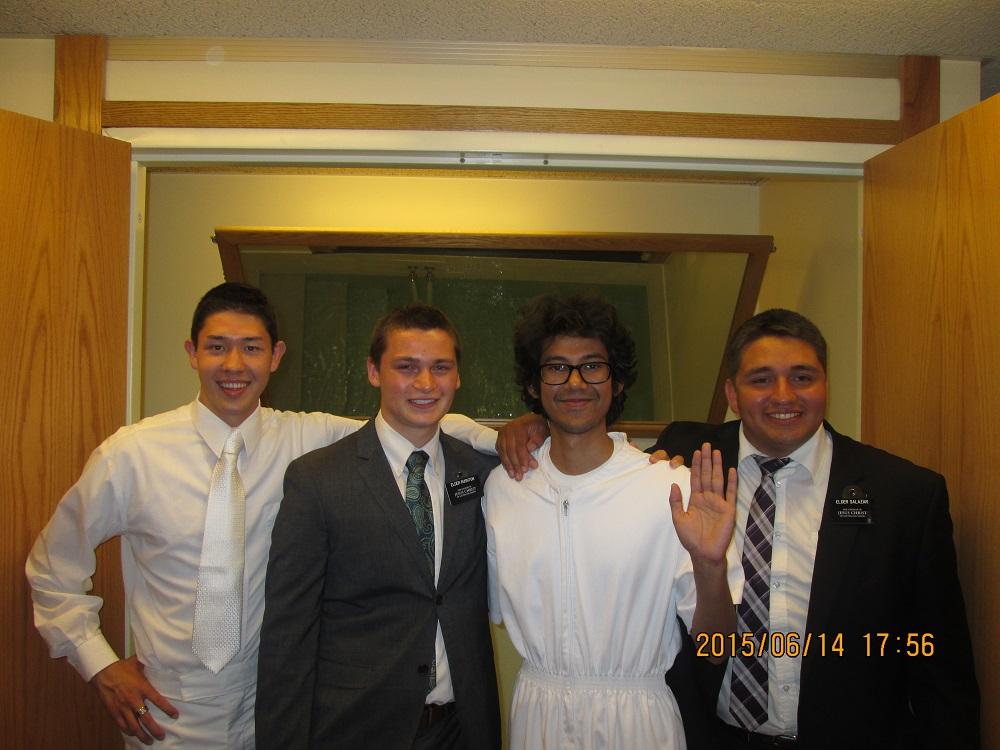 A Canadian Baptism